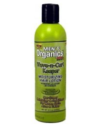 Africa's Best Men's Organics Wave-n- Curl Keeper Moisturizing Hair Lotion 8