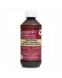 Groganics Deep Freeze Follicle Cleanser & Scalp Absorbent Shampoo 8oz