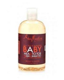 Shea Moisture Baby Red Bush Wash Shampoo 12oz