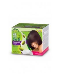 Gro Healthy Milk & Olive Single Kit Relaxer Super Kit