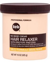 TCB - No Base Creme Hair Relaxer Mild 15oz