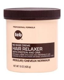 TCB - No Base Creme Hair Relaxer Regular 15 oz