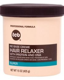 TCB - No Base Creme Hair Relaxer Super 15oz