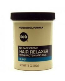 TCB - No Base Creme Hair Relaxer Super 7.5oz