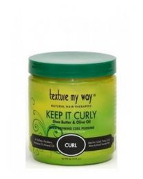Texture My Way Keep It Curly Defining Curl Pudding 15oz