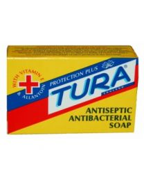 Tura Antiseptic Antibacterial Soap With Vitamin E & Allantoin