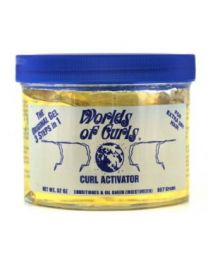 World of Curls Gel Extra Dry (yellow) 32 oz